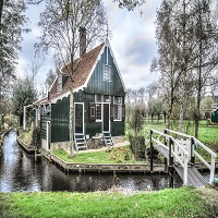 Netherlands zaandam house