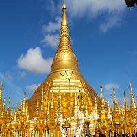 Myanmar golden temple