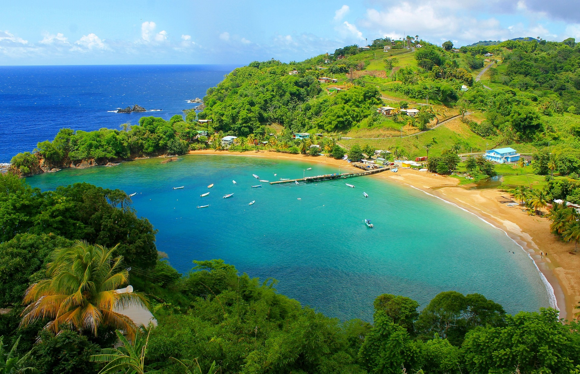 Tobago rarely visited country